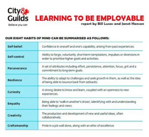 Learning to be employable