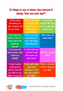 THINGS TO ASK YOUR CHILD